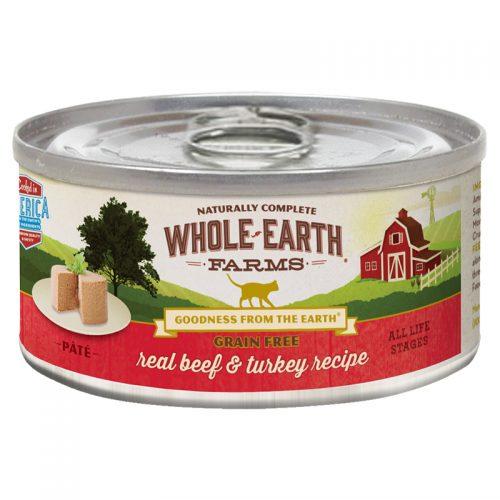 Cat-Food-Whole-Earth-Farms-Grain-Free-Cat-Adult-Beef-Turkey-24-2.75OZ