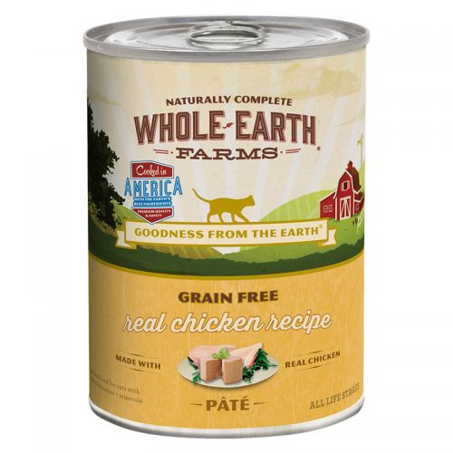 Cat-Food-Whole-Earth-Farms-Grain-Free-Cat-Adult-Chicken-12-12.7OZ