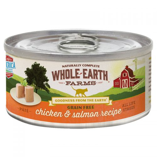 Cat-Food-Whole-Earth-Farms-Grain-Free-Cat-Adult-Chicken-Salmon-24-2.75OZ