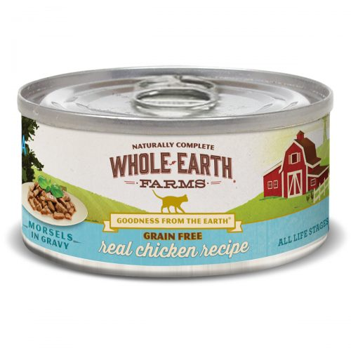 Cat-Food-Whole-Earth-Farms-Grain-Free-Chicken-Morsels-Adult-Cat-24-5OZ